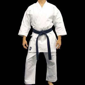 China Custom Heavyweight White Karate Uniform Gi in Polyester Cotton wholesale