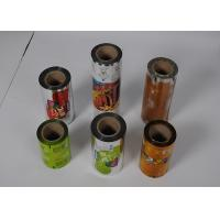 China Food Grade Plastic Packaging Film Roll , Custom  Printed Automatic Packing plastic Film Roll on sale
