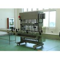 China Stainless Steel Glass Bottle Piston Filling Machine for Honey / Beverage And Cosmetic wholesale