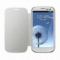 China Leather Cases for i9300, Protects Phone from Damage wholesale