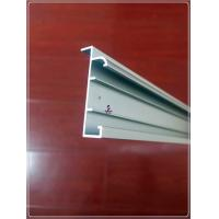 China Anodized Silvery Window Aluminum Profile Extrusion Curtain Frames For 6063 T5/T6 on sale