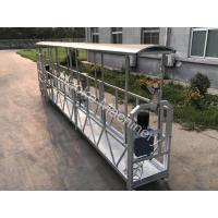 Buy cheap Aluminum Alloy Suspended Scaffold Platform 220v 60hz Three Phase Zlp800 from wholesalers