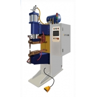 China Middle frequency aluminium nut single side AC resistance welder automatic stainless steel spot welding machine wholesale