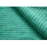 China Eco - Friendly Printted Striped Minky Fabric Flame Retardant Farland wholesale