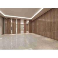 China 3D Finish Acoustic Aluminum Frame100MM Thickness Movable Partition Wall wholesale