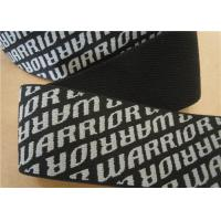 Quality Coloured Woven Cotton Webbing Straps Black Washable Eco Friendly for sale