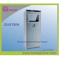 China In Wall Stainless Steel Environmental Friendly Dustbin on sale