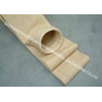 China Asphalt Mixing Plant Dust Collector Filter Bags , Nomex Filter Bags For Dust Cleaning on sale