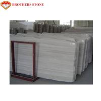 China Italy White Wood Marble Slabs For Bathroom And Kitchen Floor Tiles Decor wholesale