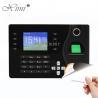 China TCP / IP Communication Biometric Time Attendance Machine RFID Card Reader wholesale