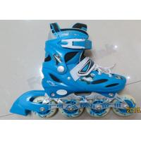 China Blue Ladies Inline Roller Skates Indoor Outdoor Skating Equipment Skate Shoes with Wheels wholesale
