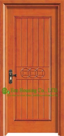 Interior wooden single door designs images for Modern single door design