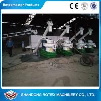 China Large Capacity Biomass Pellet Making Machine , Wood Pellet Processing Equipment wholesale