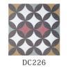 China Custom Color Decorative Ceramic Tile For Bedroom Anti - Acid No Radiation wholesale