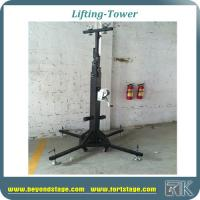 China Hot sale portable lighting truss stand hand crank stand for dj stage and outdoor trade show speaker stand on sale