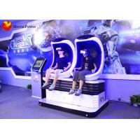 China 360 Degree Rotating Platform 9D Eggshell Cinema With Accurate Synchronized Movement wholesale