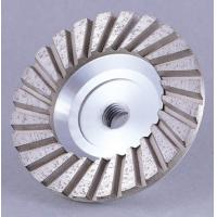 China Aluminum Body Diamond Cup Wheel , Concrete Grinding Cup Wheel For Abrasive Meterials wholesale