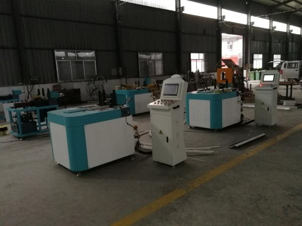 Quality CNC Roll Bending Machine for Aluminum Window / Bus Window Frame Forming Machine for sale