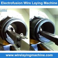 electro fusion fittings production equipment -electrofusion winding machine