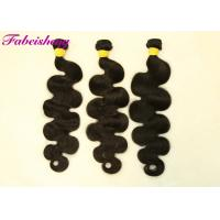 China Unprocessed Virgin 8A Virgin Hair , 24 Inch Hair Extensions Double Drawn wholesale