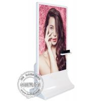 Buy cheap 65inch Floor Stand Wifi Digital Signage / Windows 10 Interactive Kiosk With Kinect Camera from wholesalers