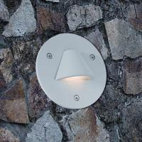 China  Round Outdoor LED Step Lights for Wall Footing 100mm * 113mm wholesale