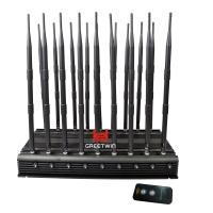 Buy cheap GW-JA18 Mobile Phone Signal Jammer 18 Antennas 2g 3G 4G WiFi 2.4G Full Bands from wholesalers