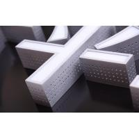 China Aluminum Metal Side LED Channel Letters Sign Outdoor Decoration Trademark wholesale