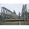China DD Double Double Type Steel Bailey Bridge , Modular Expansion Joints Bridges wholesale