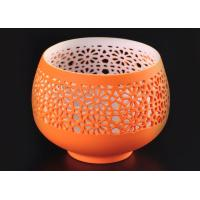 hollow bowl design ceramic porcelain candle vessels candle container
