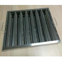 China Eco- Friendly Commercial Kitchen Hood Filters 3 To 6 Layer Aluminum Mesh wholesale
