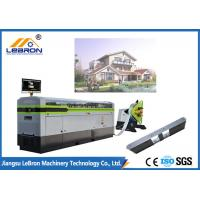 China Fast Speed Light Gauge Steel Framing Machines White Color 5.5kW Hydraulic Power on sale