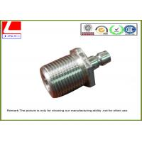China Computer Numerical Control Stainless steel machining nuts with nature color on sale