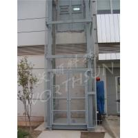 China 10t Guide Rail Freight Elevator hydraulic cargo platform lift on sale
