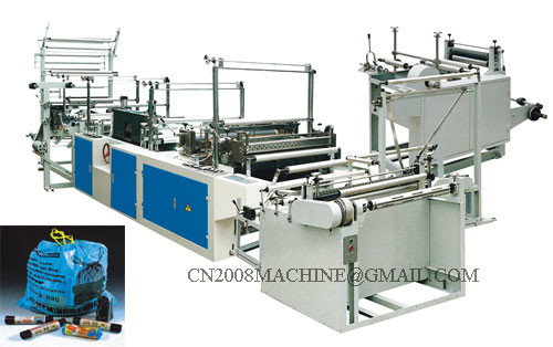 Quality RLD Series Ribbon Through Continuous Winding Bag Making Machine for sale