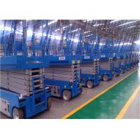 China Zero Emission Self Propelled Lift , Aerial Work Platform 6-14m Dimensional Stable wholesale