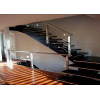 China Indoor Stainless Steel Railing With Powder Coating / Spray Paint Surface Treatment on sale