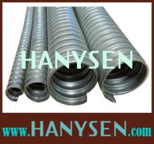 China PVC jacket corrugated underground flexible conduit wholesale