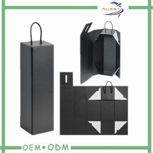Cardboard Wine Gift Boxes Packaging Custom Shaped Logo SGS / FSC