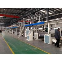 China Seven Layer Corrugated Cardboard Making Machine Production Line 5 PLY-200-1800 Type wholesale