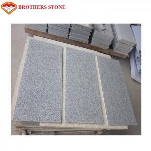 China Large Flamed Granite Stone Natural G603 Bianco Crystal Grey Granite Slab wholesale