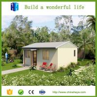 China Single storey homes sandwich panel prefabricated houses for sale on sale