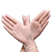 China FDA Medical Cleanroom Disposable Pvc Gloves on sale