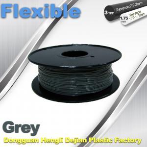 China 1.75 / 3.00mm Flexible 3d Printer Filament  0.8KG / Roll wholesale
