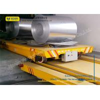 China Towed Cable Powered Coil Transfer Trolley Customized Color For Metal Sheet wholesale