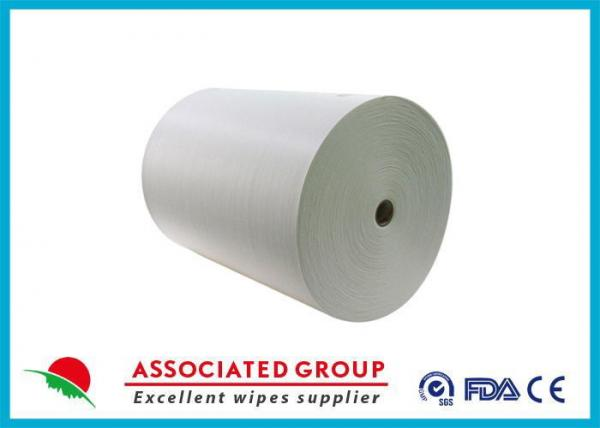 Biodegradable Multi - Purpose non woven viscose Smooth surface , soft handle