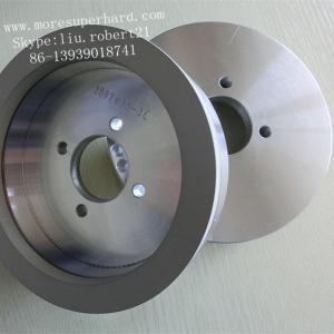China PCD vitrified bond diamond grinding wheel   robert@moresuperhard.com wholesale