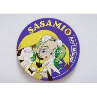 China Factory price Eco-friendly promotional custom promotional rubber soft pvc silicone coasters wholesale
