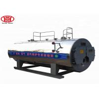 China WNS 1 Ton Oil Gas Fired Steam Boiler Dairy Plant Steam Generation Use wholesale