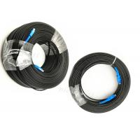Buy cheap FTTH SC APC UPC Glass Fiber Optic Cable , Fiber Optic Drop Cable For Application from wholesalers